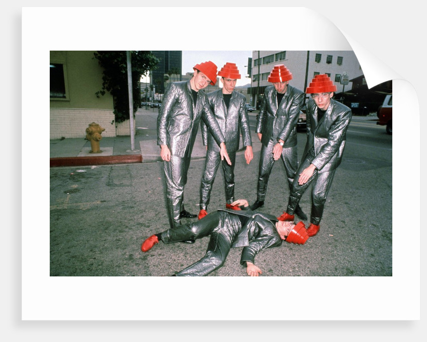 Devo, 1981 by Laurence Cottrell