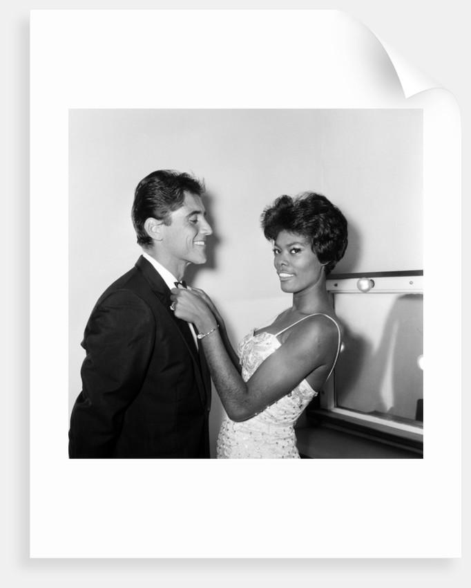 Dionne Warwick & Sacha Distel, 1964 by Staff
