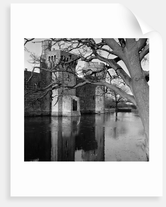 Bodiam Castle, East Sussex, 1966. by Greaves