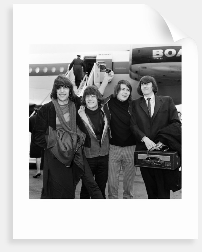 The Lovin' Spoonful, 1966 by Victor Crawshaw
