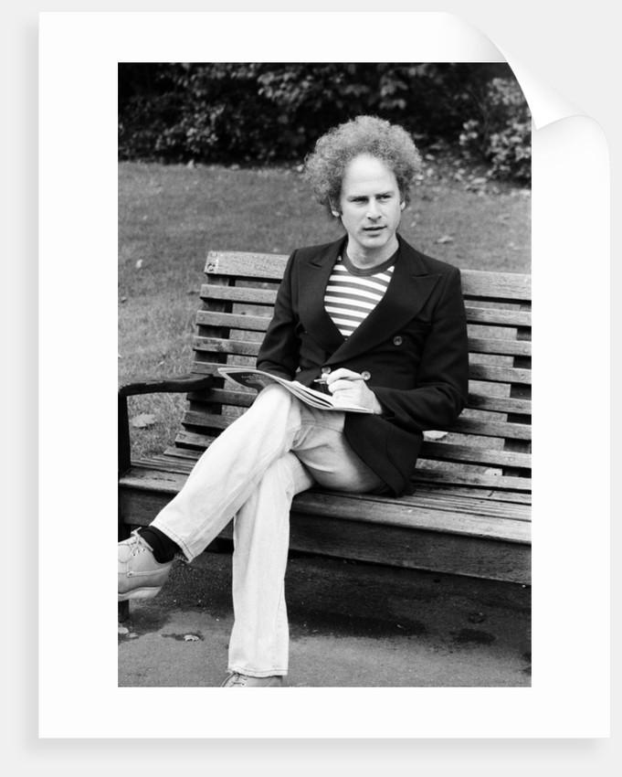 Art Garfunkel, 1975 by Eric Harlow