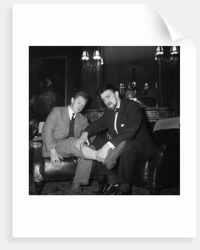 Roy Dwight and Jimmy Hill by Charlie Ley