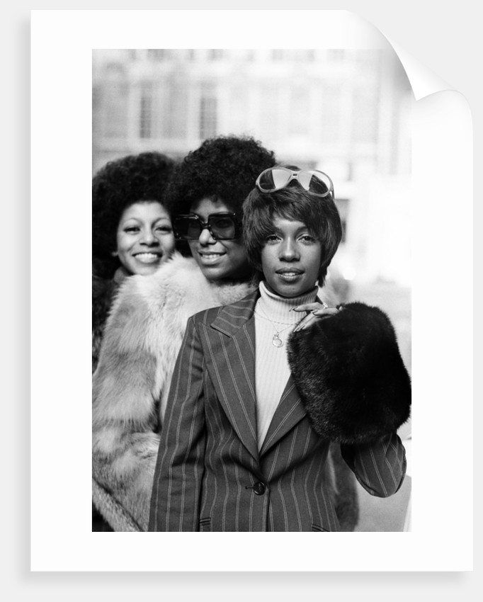 The Supremes, 1973 by Ron Burton