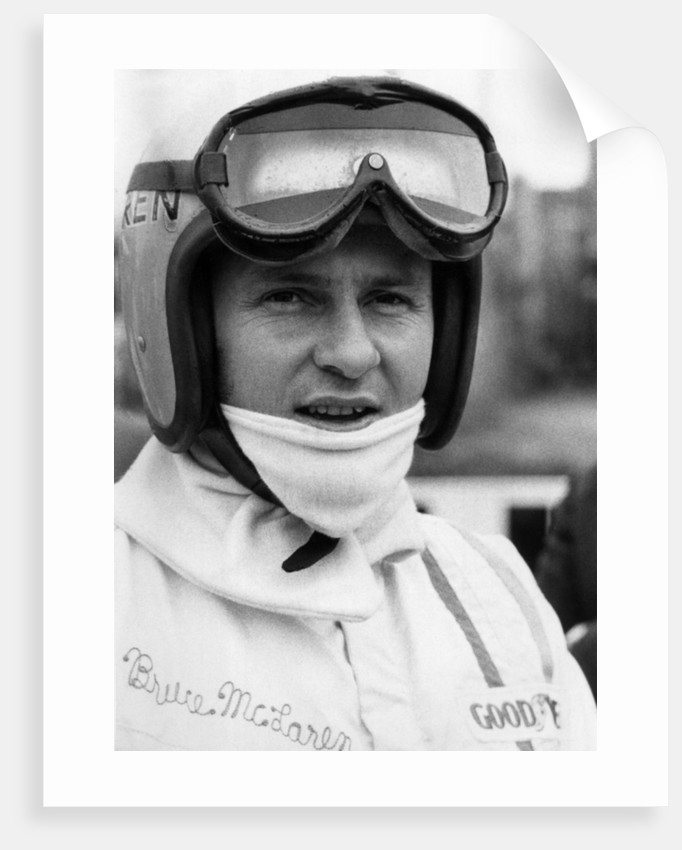 Bruce McLaren 1968 by Anonymous