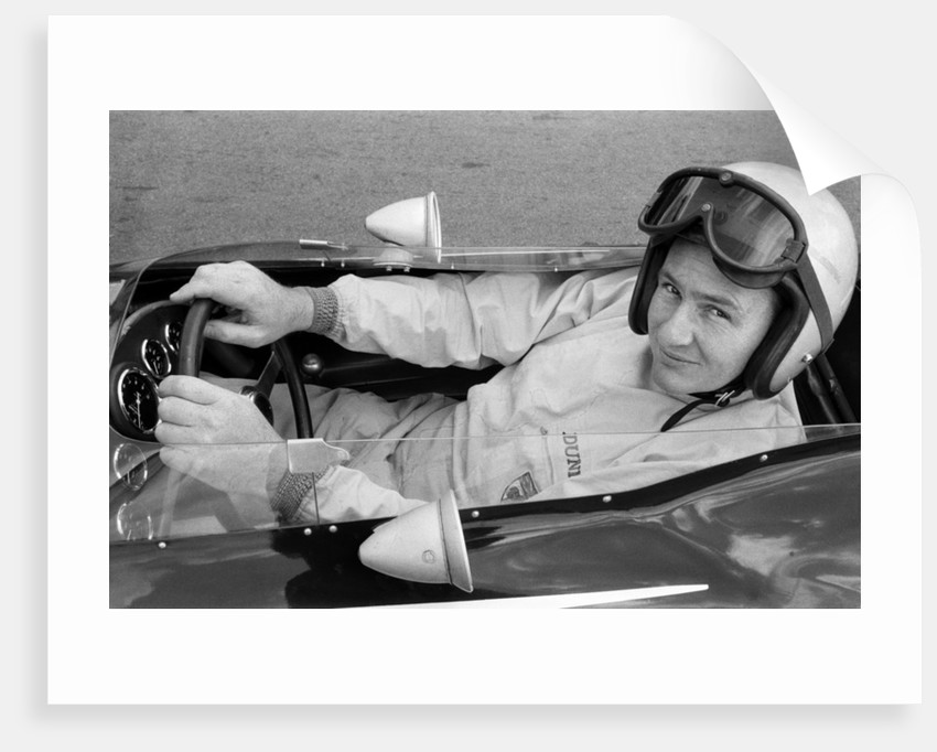 Bruce McLaren by Freddie Reed