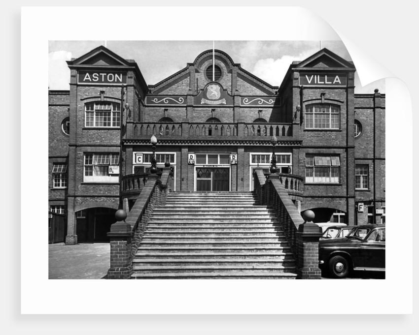 Aston Villa football stadium, 1969 by Staff