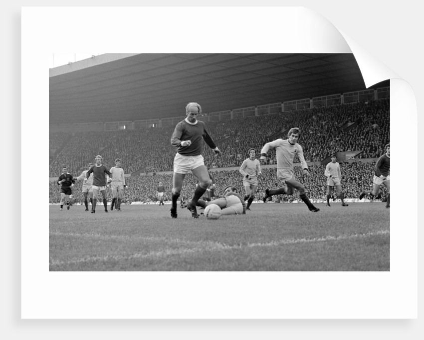 English league division one match at old trafford manchester united 2 v coventry city 0