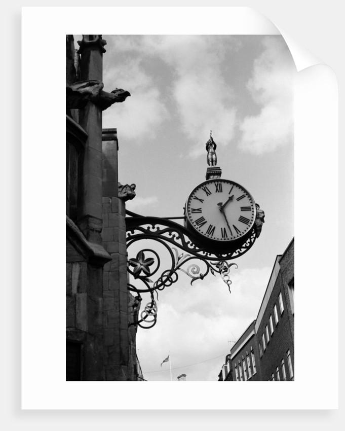 St. Martin-Le-Grand Clock on Coney Street, York by Howard Jones