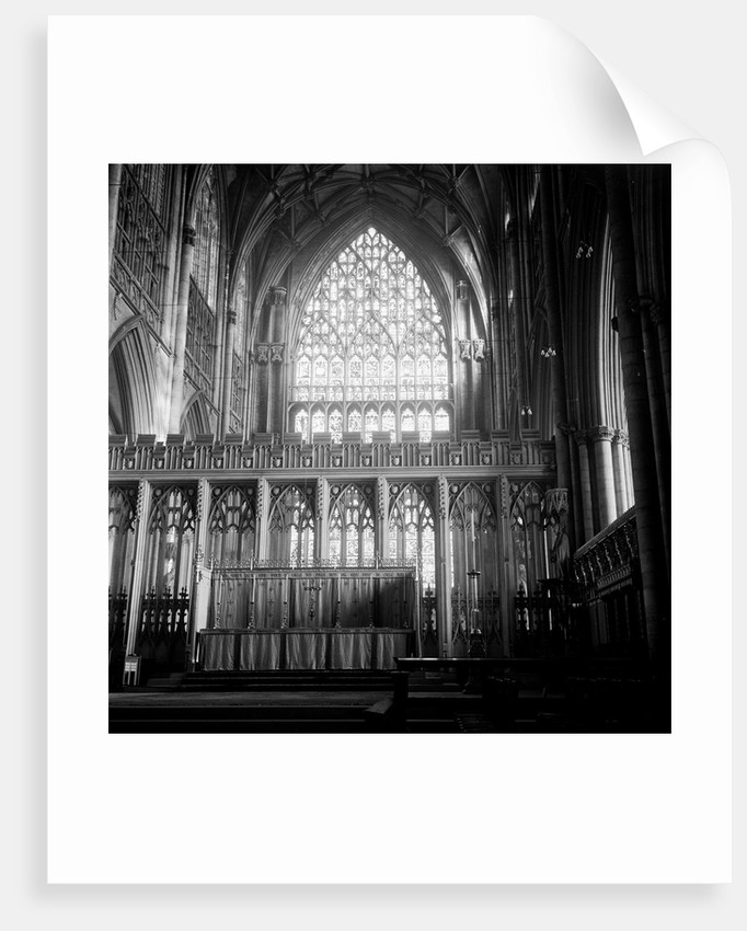 York Minster Interior by Varley/Chapman