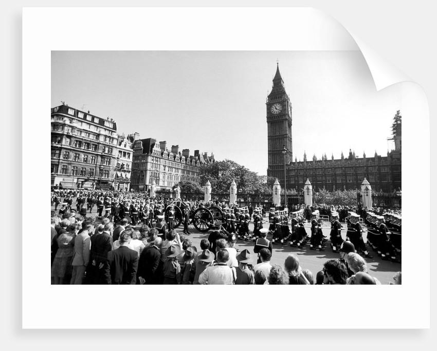 Funeral of Earl Mountbatten by Anonymous