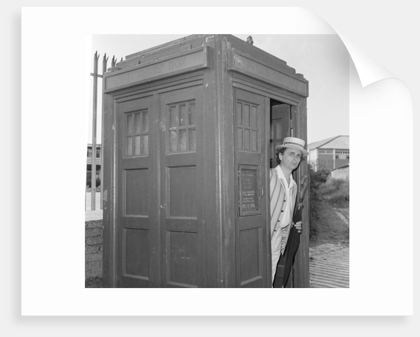 Sylvester McCoy as Doctor Who by Anonymous