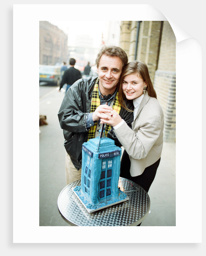 Dr Who, Sylvester McCoy, with his assistant Ace alias Sophie Aldred by Anonymous