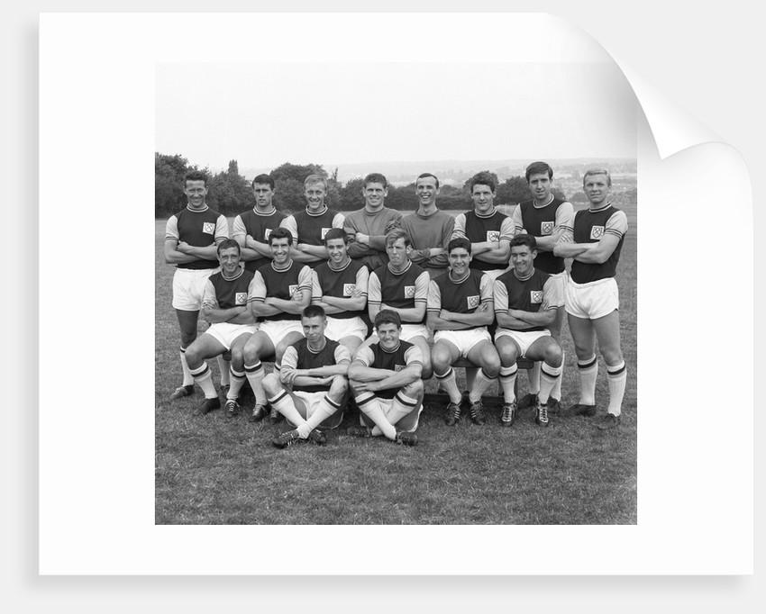 West Ham FC, 2nd August 1961 by Staff