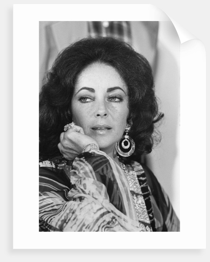 Elizabeth Taylor by Anonymous