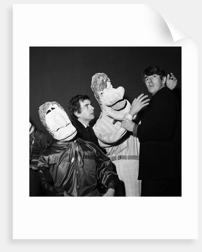 Dudley Moore and Peter Cook by Anonymous