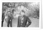 Bob Dylan in the Savoy Gardens by Kent Gavin