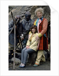 Colin Baker with Nicola Bryant by Anonymous
