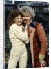Colin Baker with Bonnie Langford by Anonymous