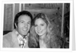 Barbara Streisand and James Caan by Anonymous