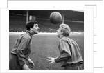 Jim Baxter and Denis Law by Anonymous