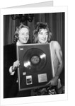 Denis Law with Rod Stewart by Anonymous