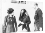 The Queen with the Duchess of Windsor and the Duke of Edinburgh by Staff