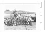Everton team members wave before their plane departs from Speke airport by Terry Mealy