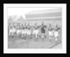 Everton players training at Goodison Park by Ted Abell