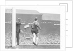 English League Division One match at Anfield by Alfred Markey