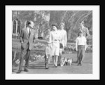 The Queen and The Duke of Edinburgh with Prince Charles, Prince Andrew and Princess Anne by Anonymous