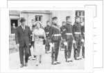 The Queen with President Eisenhower at Balmoral by Anonymous