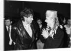 Boy George with Bob Geldof by Will Dyson