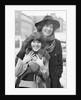 Tom Baker with Elisabeth Sladen by Ron Burton