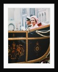 Queen Elizabeth II & Prince Philip ride back to the Palace by MSI
