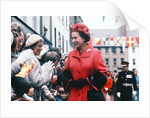 Queen Elizabeth II greets crowds of wellwishers in Scotland by Daily Record
