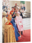 Queen Elizabeth II & Prince Philip arrive at St Pauls Cathedral by Daily Mirror