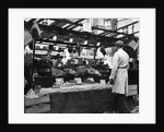 Greengrocers stall in East Street Market by Staff