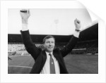 Alex Ferguson waves to the Old Trafford crowd by Anonymous