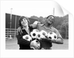 Kevin Reeves and Justin Fashanu 1979 by Alan Howard