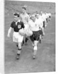 International match at Wembley Stadium 1955 by Malcolm MacNeill
