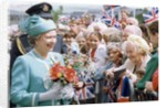 The Queen in Manchester 1992 by Manchester Evening News Archive