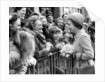 The Queen in Manchester 1972 by Manchester Evening News Archive