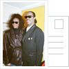 Whitney Houston and Stevie Wonder by Brendon Monks