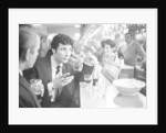 Tom Jones, enjoys a drink, 22nd February 1965. by Davies