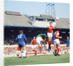 Chelsea v Arsenl league match August 1970 by Crawford