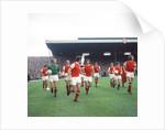 Arsenal v Man U league match August 1970 by Staff