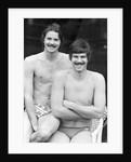 David Wilkie & Mark Spitz by Mike Maloney