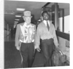Laurie Cunningham at Heathrow Airport by Monte Fresco