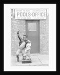Laurie Cunningham outside Leyton Orient Football Club Pools Office. by Monte Fresco