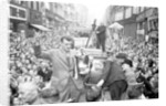 Derby FA Cup winning team homecoming 1946 by Greaves